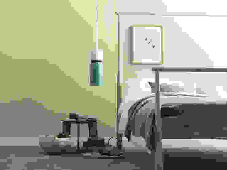 SCHÖNER WOHNEN-FARBE Phòng ngủ phong cách hiện đại Green