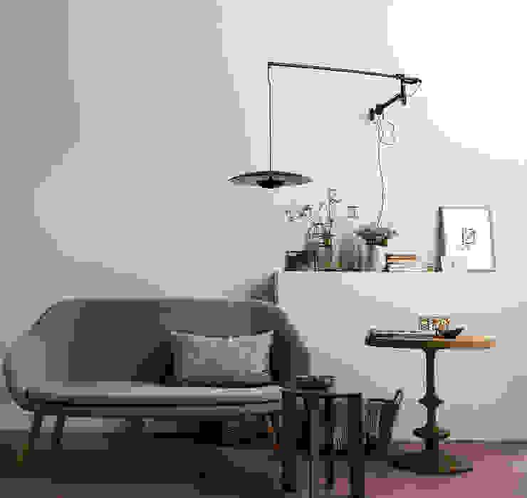 SCHÖNER WOHNEN-FARBE Living room Grey