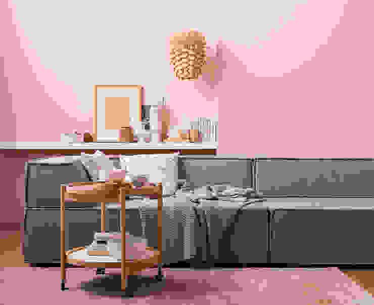 Living room by SCHÖNER WOHNEN-FARBE