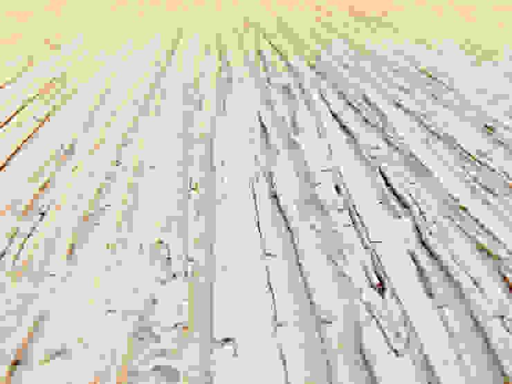 Salones rústicos rústicos de FARBCOMPANY Rústico Madera Acabado en madera