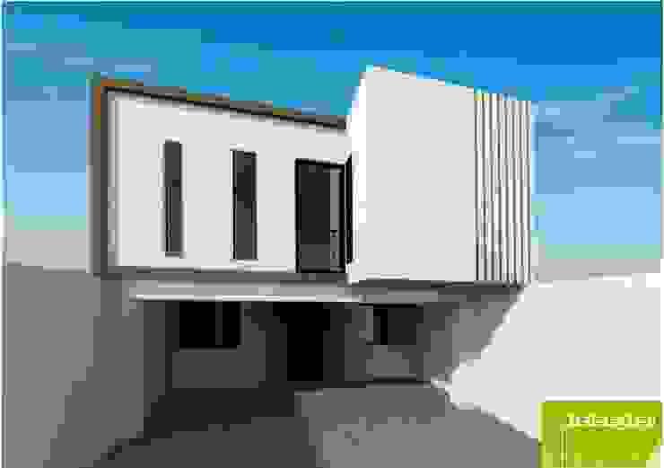 Propuesta Fachada Interior de Lobato Arquitectura