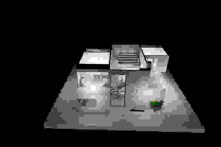 Maqueta 3D de Estudio AL - Arquitectura-Diseño Interior Moderno