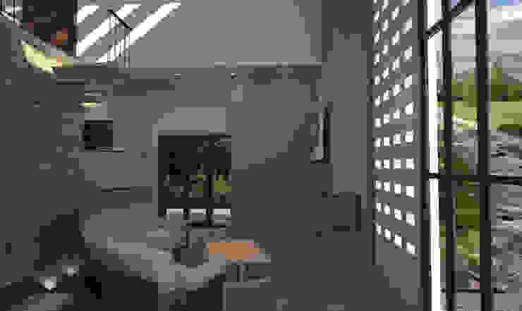 Estancia de Estudio AL - Arquitectura-Diseño Interior Moderno