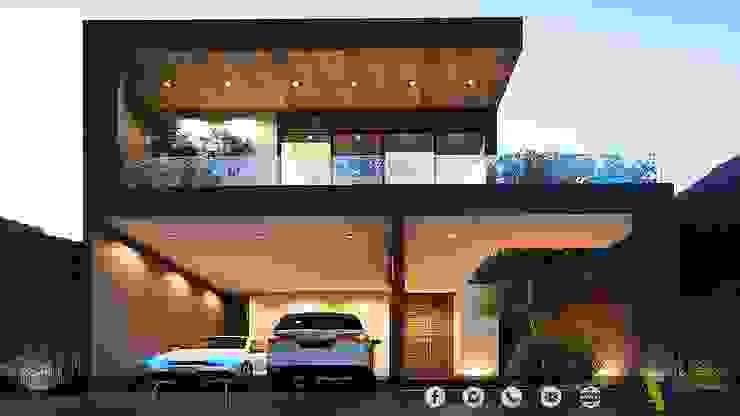 PROYECTO GI/L21/M55/AMORADA/MEX Casas modernas de ADC arquitectos Moderno