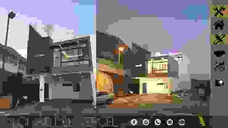 LOMAS DEL VERGEL/LG Casas industriales de MONACO GRUPO INMOBILIARIO Industrial