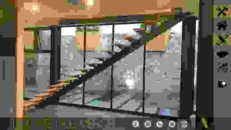 LOMAS DEL VERGEL/LG Pasillos, vestíbulos y escaleras industriales de MONACO GRUPO INMOBILIARIO Industrial