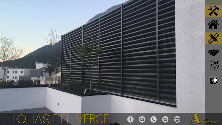 LOMAS DEL VERGEL/LG Balcones y terrazas industriales de ADC arquitectos Industrial