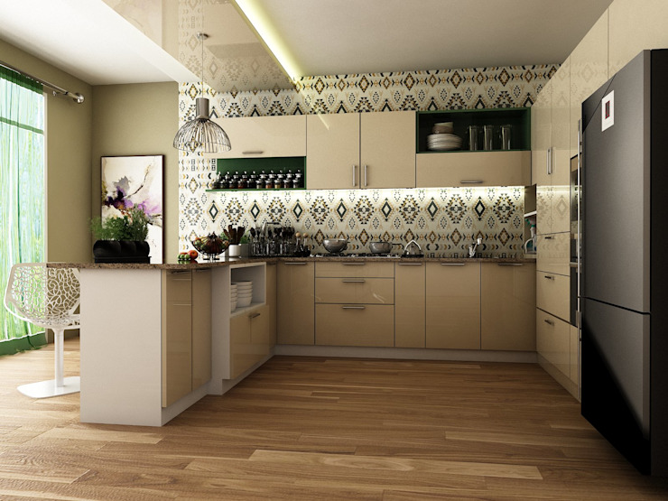 Kitchen by Blue Interiors