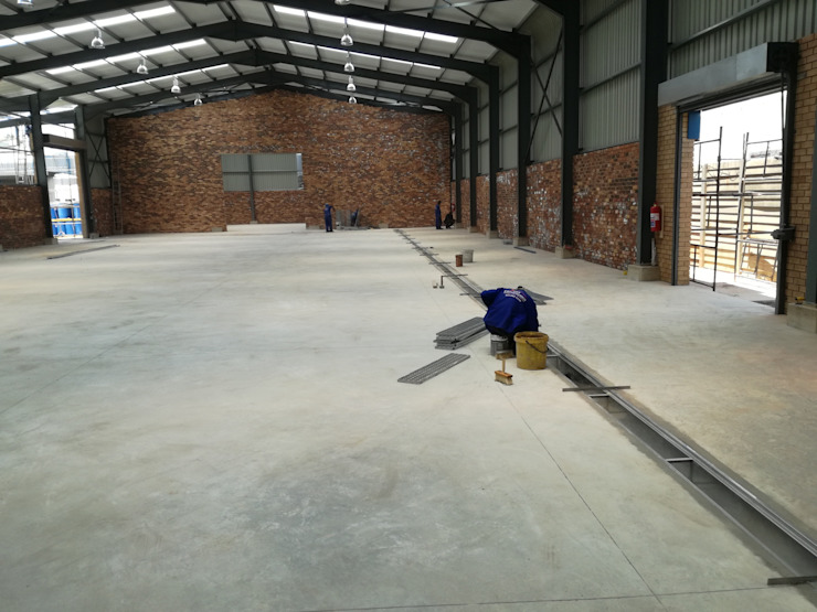NEW WAREHOUSE by DG Construction