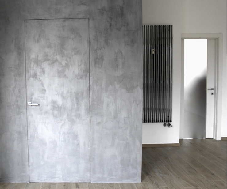 モダンスタイルの 玄関&廊下&階段 の Aulaquattro モダン