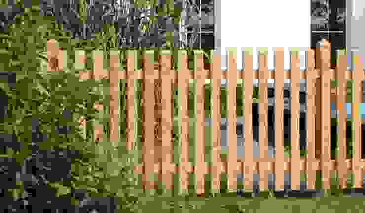 Holzzaun Natura Zaunfelder von meingartenversand.de Klassisch