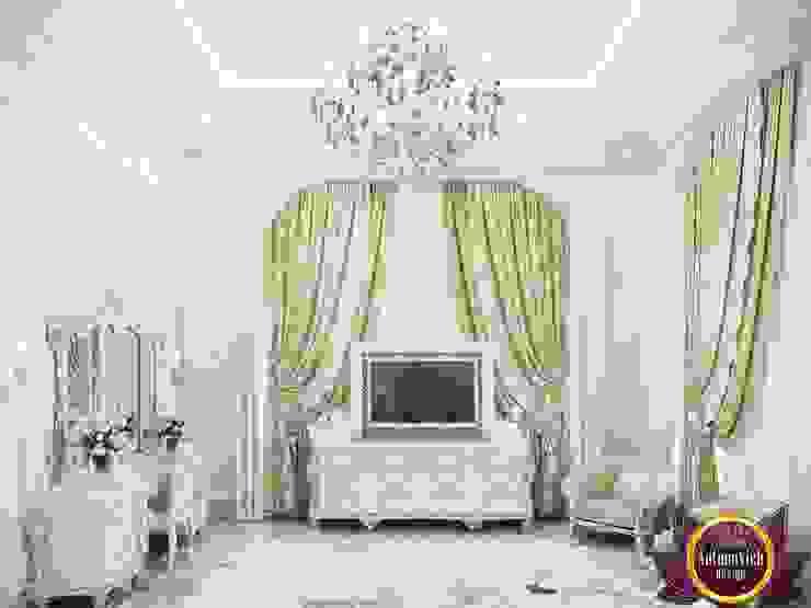 غرفة نوم تنفيذ Luxury Antonovich Design,