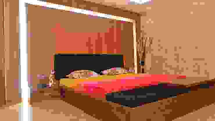 Bungalow Modern style bedroom by Shadab Anwari & Associates. Modern