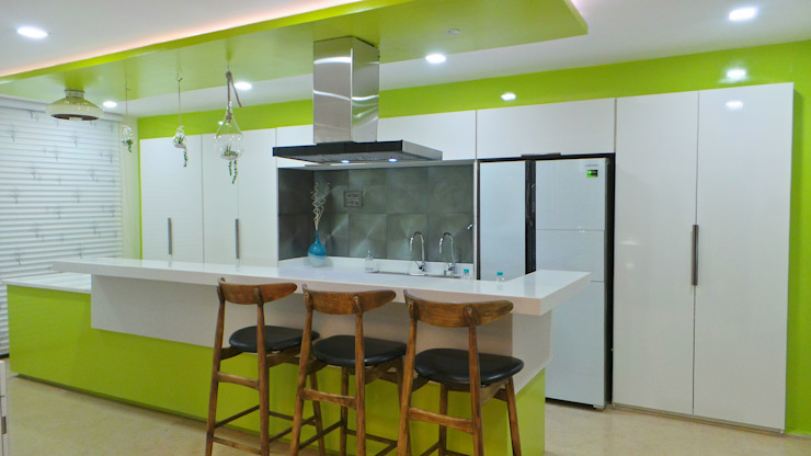 Bungalow Shadab Anwari & Associates. Modern kitchen