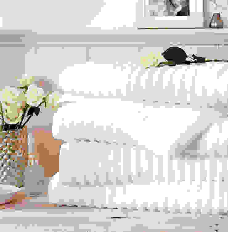 Mont Blanc Zero Twist 100% cotton Ribbed Towels King of Cotton BathroomTextiles & accessories Cotton White