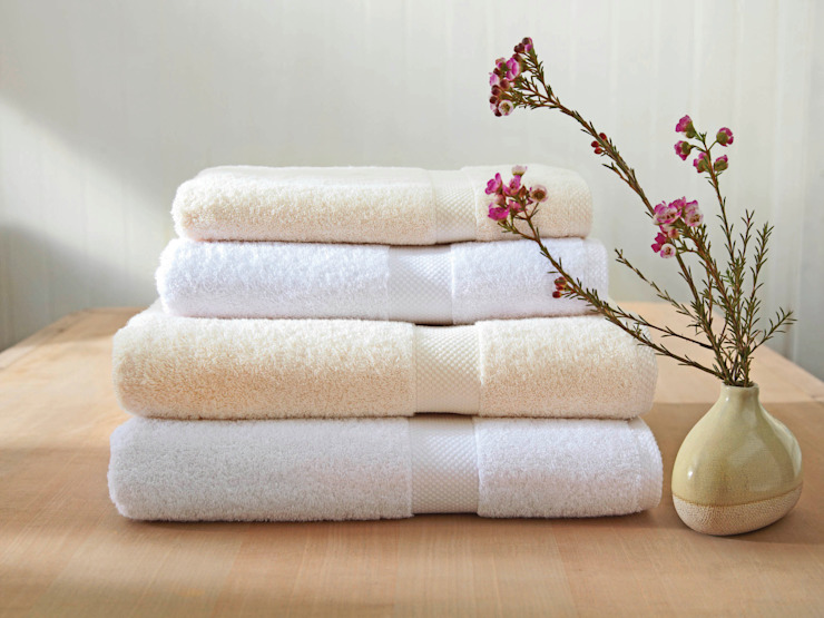 Organic Fairtrade Cotton 650 gram per square metre Towels King of Cotton BathroomTextiles & accessories Cotton White