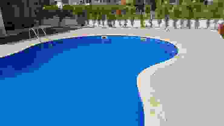 yüzme havuzu Akdeniz Oteller Ka Mühendislik (Bodrum) Akdeniz Beton