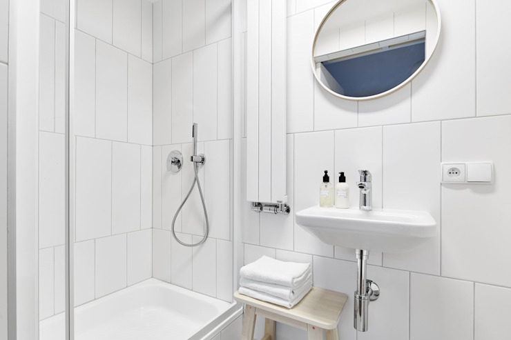 Scandinavian style bathroom by BLACKHAUS Scandinavian Tiles