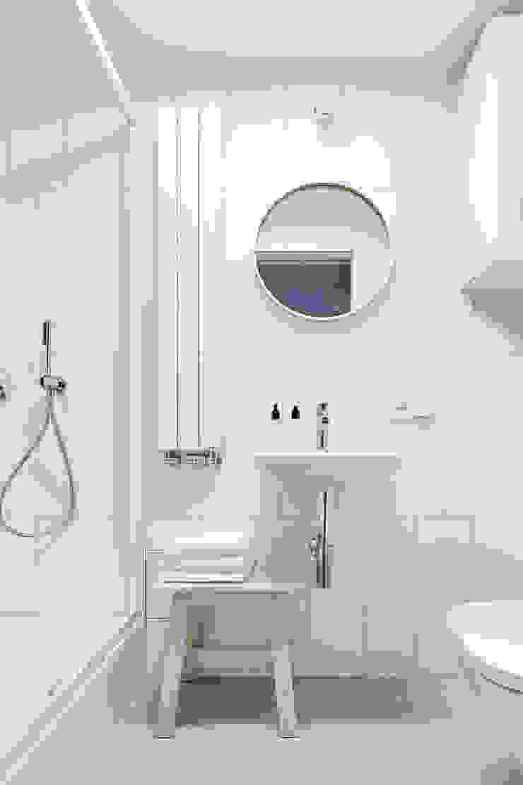 BLACKHAUS Salle de bain scandinave Tuiles Blanc