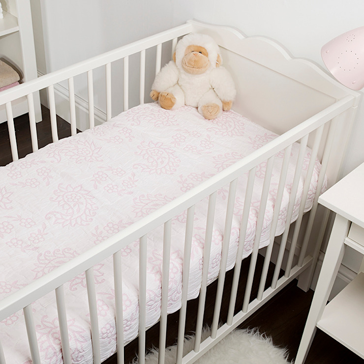 Meadow Children's Cotton Bedspread King of Cotton Nursery/kid's roomBeds & cribs Cotton Pink