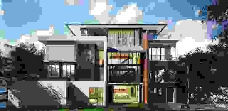 THE BLACK SMITH HOUSE โดย Pure Architect Co., Ltd.