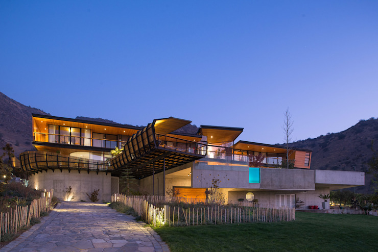 Casa Chamisero: Casas de estilo  por GITC ,