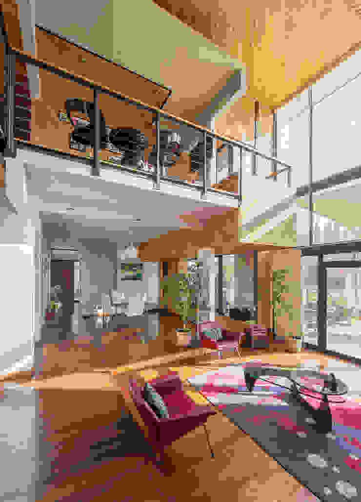 Casa Rosales Quijada Livings de estilo moderno de GITC Moderno