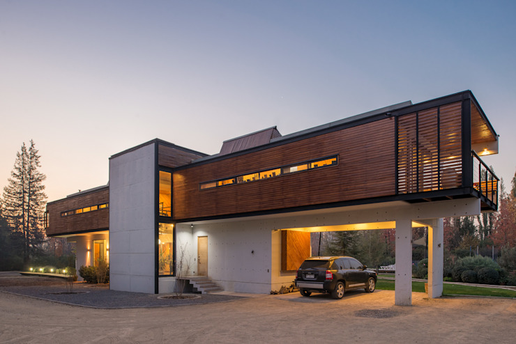 Casa Rosales Quijada: Casas de estilo  por GITC , Moderno