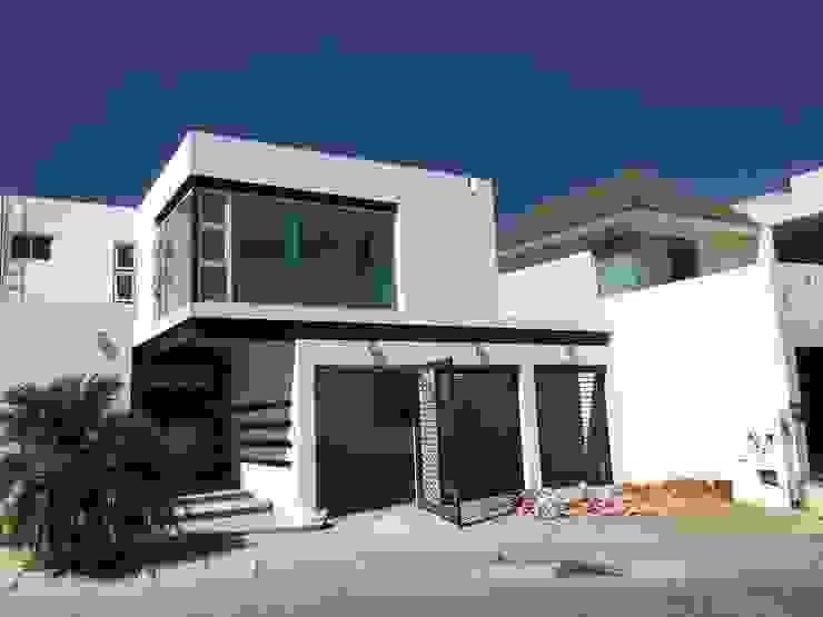 Estado original Casas de estilo ecléctico de HF Arquitectura Ecléctico Hormigón