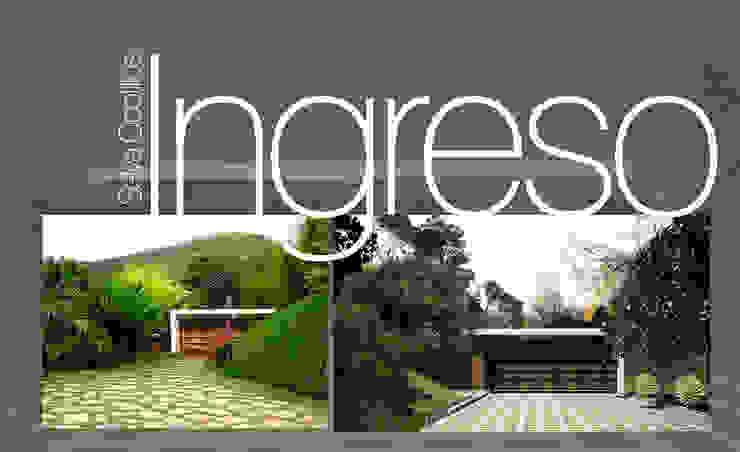 Acceso Principal de Lobato Arquitectura