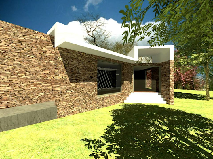 Coto Selva Casas modernas de Lobato Arquitectura Moderno
