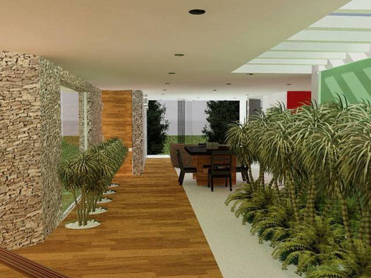 Coto Selva Jardines modernos de Lobato Arquitectura Moderno