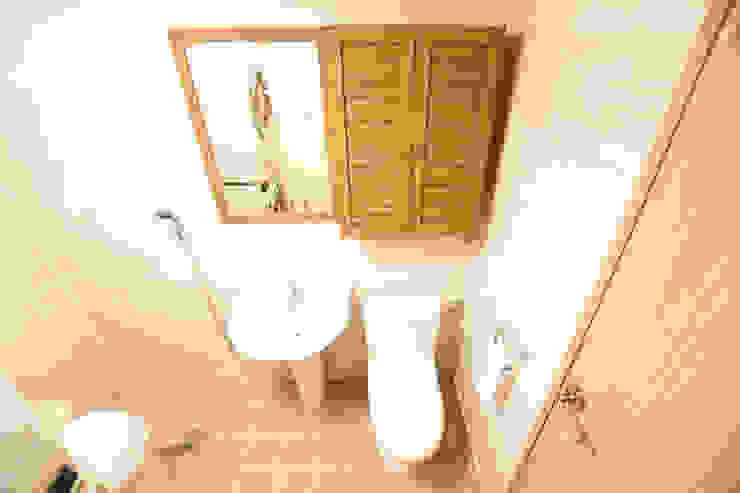 꿈애하우징 Mediterranean style bathroom
