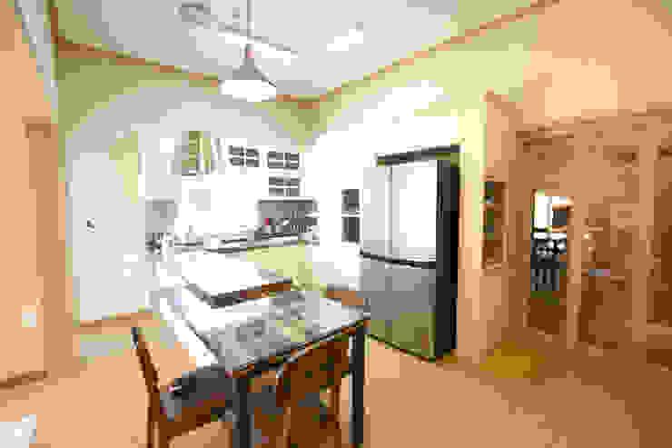꿈애하우징 Mediterranean style kitchen
