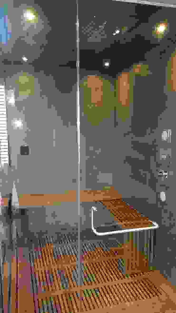 Cabina de Vapor y ducha. Baños modernos de ebanisART Espacio y Concepto Moderno
