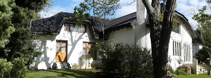 Thatch Roof converted to Flexible Tiles Modern houses by Cintsa Thatching & Roofing Modern Tiles