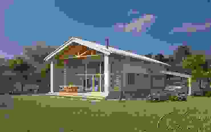 Компания архитекторов Латышевых 'Мечты сбываются' Country style house