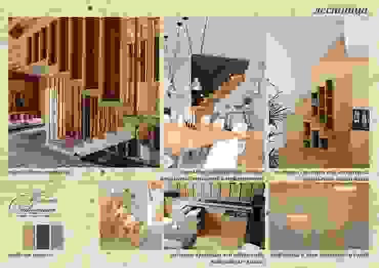 乡村风格的走廊,走廊和楼梯 根據 Компания архитекторов Латышевых 'Мечты сбываются' 鄉村風
