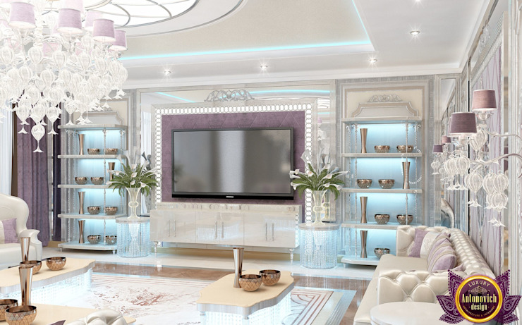 ​ Colorful interiors of Katrina Antonovich by Luxury Antonovich Design Eclectic