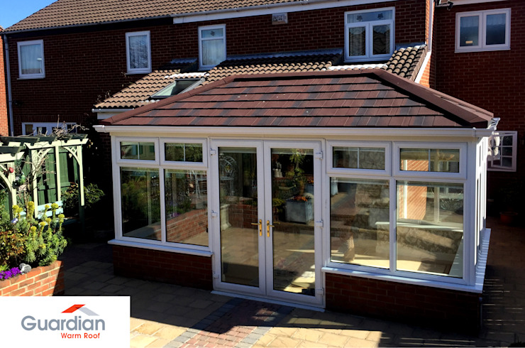 Guardian Warm Roof Modern conservatory by Premier Roof Systems Modern