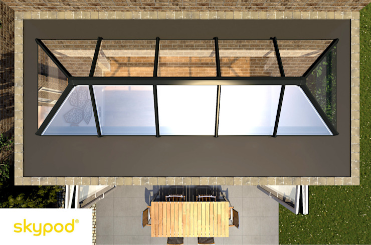 Skypod Skylights by Premier Roof Systems Modern