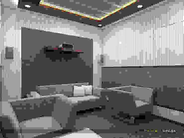 Y.K-Mr. C -Kandivali-Hiranandani-Small Theatre room. by Design Spark