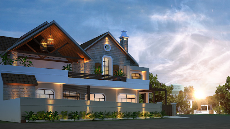 Modern Villa at Phagwara by Gagan Architects