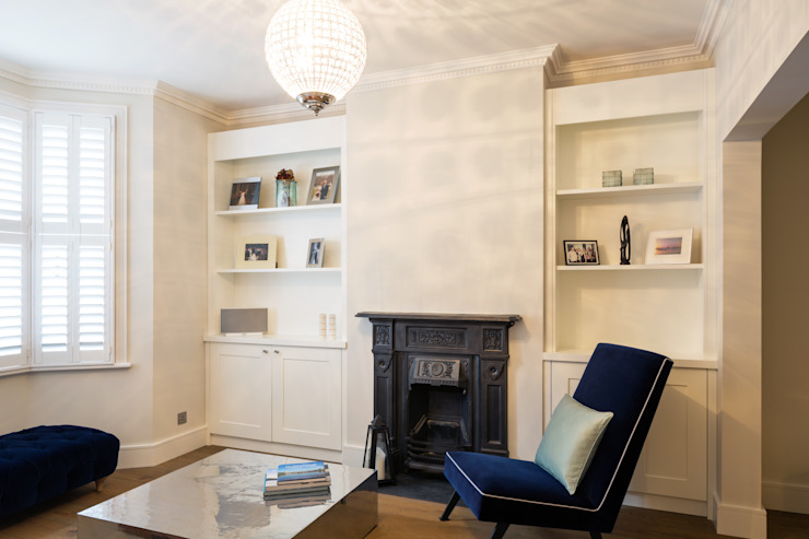 Nasmyth Street Frost Architects Ltd 클래식스타일 거실