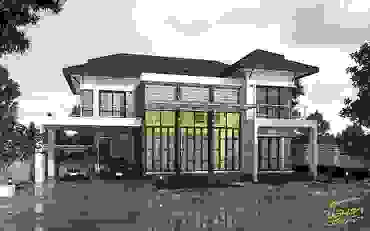 บ้านคุณหมอภูวดล - พระยาตรัง โดย บริษัท นันทสถาปนิก จำกัด