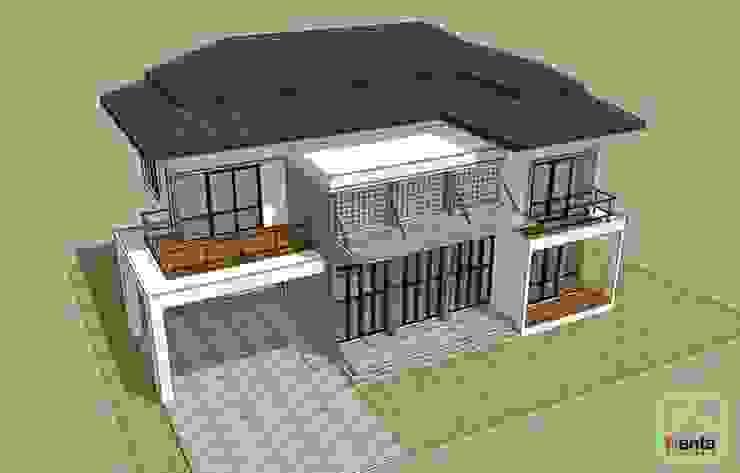 บ้านคุณหมอภูวดล – พระยาตรัง โดย บริษัท นันทสถาปนิก จำกัด