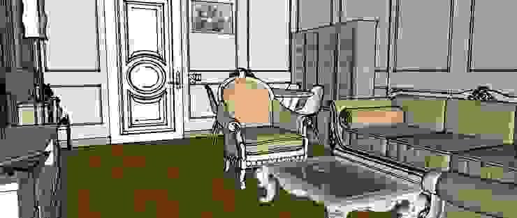 Moscow project Klasik Yemek Odası FOX IDEA Klasik Ahşap Ahşap rengi