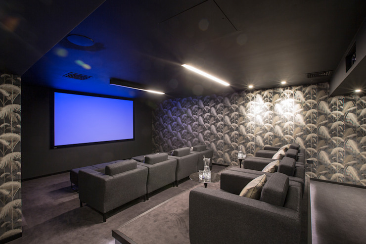 Cinema room โดย Studio Mark Ruthven โมเดิร์น