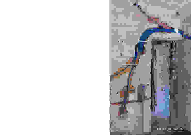 Casa de porteira - durante a intervenção por Esfera de Imagens Lda