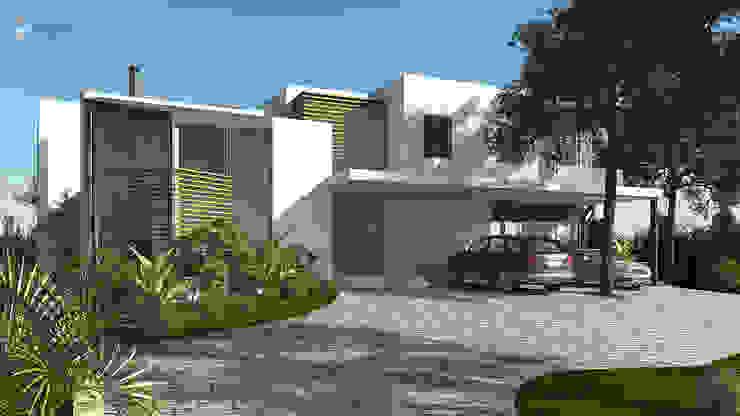 Moradia no Algarve por Essencia Architects